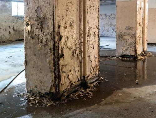 filtraciones de agua en paredes