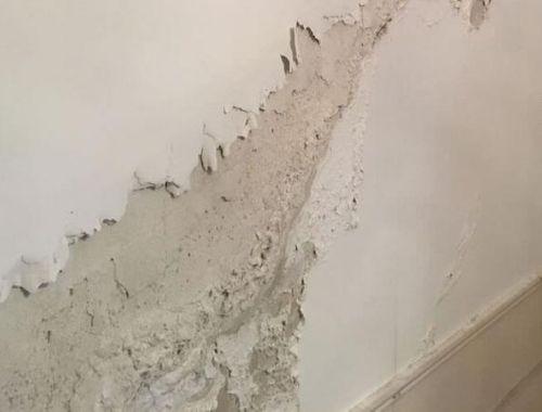 humedad por filtracion en fachadas