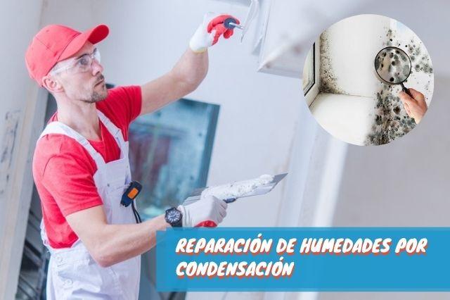 Reparación de humedades por condensación